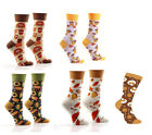 Yo Sox Women's Fall & Thanksgiving Themed Cotton Blend Crew Socks