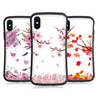 HEAD CASE DESIGNS BLOSSOMS AND LEAVES HYBRID CASE FOR APPLE iPHONES PHONES