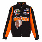 Chase Elliott JH Design Black Orange Hooters Cotton Jacket JH Design new