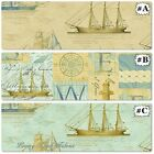 "WINDHAM  ""TALL SHIPS"" NAUTICAL ANTIQUE SHIPS FABRICS (MAKE SELECTIONS)"