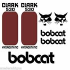Bobcat 530 533 DECALS Stickers Skid Steer loader New Repro decal Kit