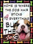 BULLDOG RETRO METAL SHABBY-CHIC TIN SIGN WALL PLAQUE FRIDGE MAGNET (92)