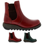 Womens Fly London Scon Gore Tex Leather Winter Wedge Heels Ankle Boots UK 3-9