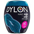 22 COLOURS DYLON FABRIC & CLOTHES DYE MACHINE WASH 350g POD/ 50G POUCH HAND DYE