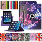 For Apple iPad 9.7 2017 (5th Generation) 360° Rotating Leather Smart Case Cover