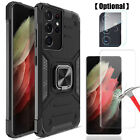 For LG X Charge Fiesta LTE Hybrid Phone Case Cover+ Clear Glass Screen Protector