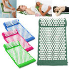 acupressure pillows - Acupressure Mat&Pillow Set for Back/Neck/Joint Pain Muscle Relief Relaxation New