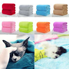 Kids Super Soft Warm Solid Micro Plush Fleece Blanket Throw Rug Sofa Bedding image