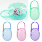 Baby Soother Container Holder Pacifier Dummy Travel Storage Box Case Holder PP