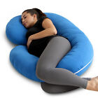 Pregnancy Pillow - Full Body Pillow for Maternity & Pregnant Women by PharMeDoc