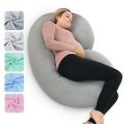 Pregnancy Pillow - Full Body Pillow for Maternity  Pregnant Women by PharMeDoc