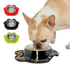Pet Leak Proof Bowls Dog Feeder Stainless Steel Pets No Slip Cats & Dogs Bowl