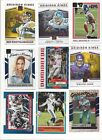 2017 PANINI DONRUSS FOOTBALL INSERTS - STARS, RC, HOF -    ALL LISTED   - U PICK on eBay