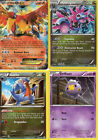 LOT OF 4  POKEMON CARS 124 SERIES  (2012)