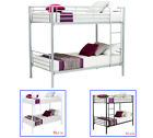 3 Colors Twin Size Twin Bunk Beds Frame Ladder for Kids Adult Children Bedroom