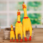 Squeeze Shrilling Screaming Rubber Chicken Pet Dog Bite Toys Squeaker Chew Gift