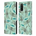 HEAD CASE DESIGNS WATERCOLOUR INSECTS LEATHER BOOK CASE FOR SAMSUNG PHONES 1