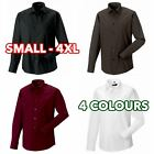 Russell 3 5 10 Pack Mens Boy Long sleeve easycare fitted shirt formal casual lot