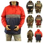 Men's Windbreaker Hoodie Pullover GYM Camo Fishing Hiking Hunting Outdoor JACKET