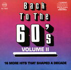 Various Artists : Back to the 60s 2 CD