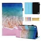 For Amazon Kindle Fire HD 8 2017/ 2016 Smart Magnetic Pattern Leather Case Cover