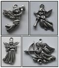 PEWTER CHARM 1 bail ANGEL #1290 or #1370 or #1371 or #1377