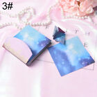 Origami Color Paper Crafts Universe Star Moon DIY Making Scrapbooking Craft QW
