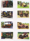 ***INDIVIDUAL TRU CARDS VETERAN AND VINTAGE CARS 1970 MINT CONDITION