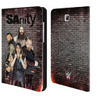 OFFICIAL WWE SANITY LEATHER BOOK WALLET CASE COVER FOR SAMSUNG GALAXY TABLETS