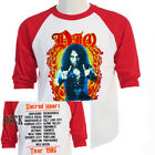 "DIO Sacred Heart,""1985 World TOUR Baseball T-Shirt, Size S-3XL T-429Red L@@K"