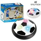 New Indoor Toy Gift Led Soccer Floating Foam Football Kids Electric HoverBall.DE