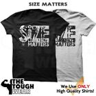 SIZE MATTERS Gym Rabbit T-Shirt Workout Gym BodyBuilding Fitness Lifting D136 image