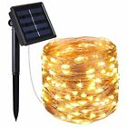 Solar Powered String Lights 100 LE Lights Starry String Lights Waterproof Decor