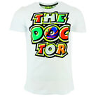 Valentino Rossi VR46 Moto GP The Doctor Logo White T shirt Official 2018