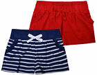 Girls New 2PACK Shorts Pants Kids Summer Beach Outfits Clothes 2PCS Set Age 3-13