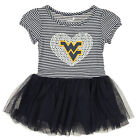 """OuterStuff NCAA Toddlers West Virginia Mountaineers """"Celebration"""" Sequin Tutu Dr"""