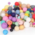 15mm Silicone Teething loose Beads DIY Baby safe Chewable Jewelry Bpa-Free Proof