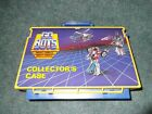Vintage 1980's Go Bots Collectors Case Robots Carrying Case Great Colors