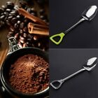 Stainless Steel Shovel Shape Design Coffee Ice Cream Spoon for Kids