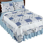 Hadley Floral Patchwork Reversible Lightweight Quilt, by Collections Etc image