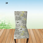 Seat Spandex Chair Stretch Decor Floral Ealstic Cover Wedding Dining Room Home