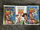 Toy Stoy VHS and special edition version, Toy Story 2 VHS-New in plastic
