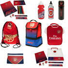Arsenal FC Back To School Gym Bag Lunch Bag Bottle For Everyone