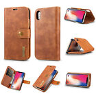 Genuine Cow Leather Royal Wallet Phone Case For iPhone X SE 5 6S 7 8Plus Sumsung