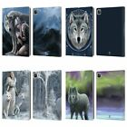 OFFICIAL ANNE STOKES WOLVES LEATHER BOOK WALLET CASE COVER FOR APPLE iPAD