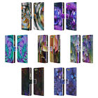 OFFICIAL HAROULITA ABSTRACT GLITCH LEATHER BOOK WALLET CASE FOR HUAWEI PHONES