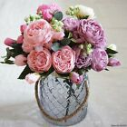 Handfly 5 Branches 10 Heads Artificial Flowers Fake Flowers Chrysanthemum Balls