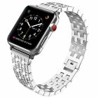 Rhinestone Diamond Stainless Steel Strap Band for Apple Watch Series 4 3 2 1 image