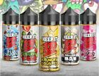 Keep it 100 Blue Slushie KiBerry Killa Strawberry Milk Peachy Punch 100ml