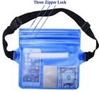 Waterproof Underwater Waist Bag Fanny Pack Swimming Beach Dry Pouch Case Wallet